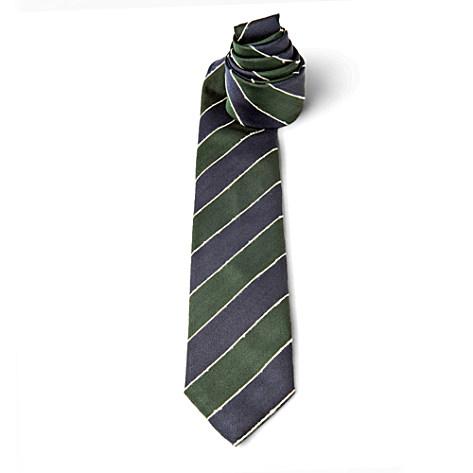 DRAKES Shantung stripe tie