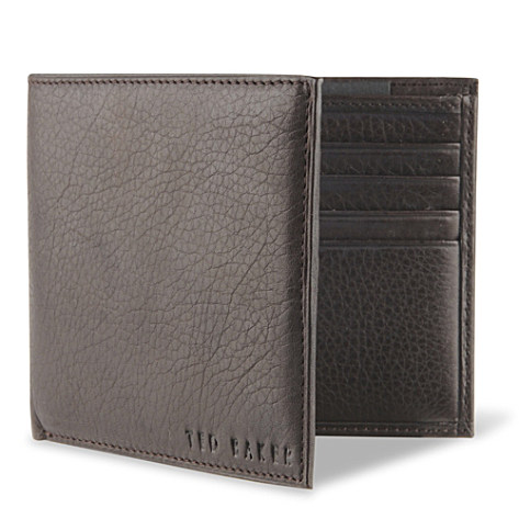 TED BAKER<br /> Leather billfold wallet