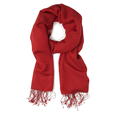 Kate Middleton Red Scarf