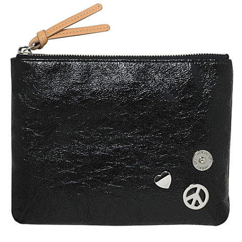 MULBERRY Lovepeace patent pouch