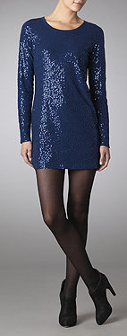 Mini sequined dress