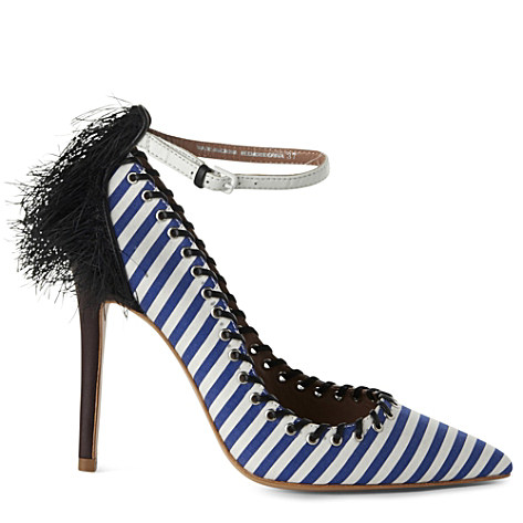 ALDO RISE JW Anderson Weatherbee eyelet and feather courts