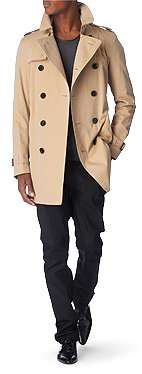 BURBERRY LONDON Britton double–breasted trench coat