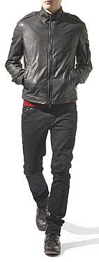 Burberry Washed Leather Jacket