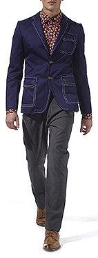 VIVIENNE WESTWOOD Contrast stitch jacket