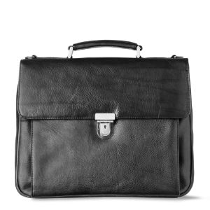 LEONHARD HEYDEN Leather briefcase