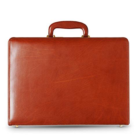 QUINDICI<br /> Bar–lock expanding executive case