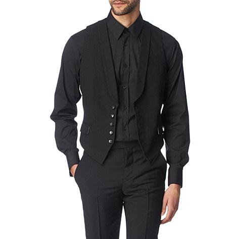 Alex Smith on Contrast Back Waistcoat   Alexander Mcqueen   Formal Jackets   Coats
