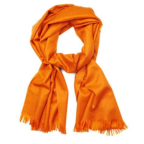 JIL SANDER Tasselled scarf