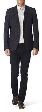 BURBERRY PRORSUM Fleck tweed jacket