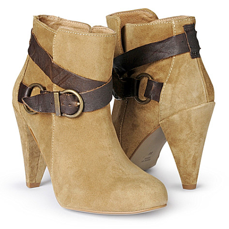 Taupe Whittaker ankle boots