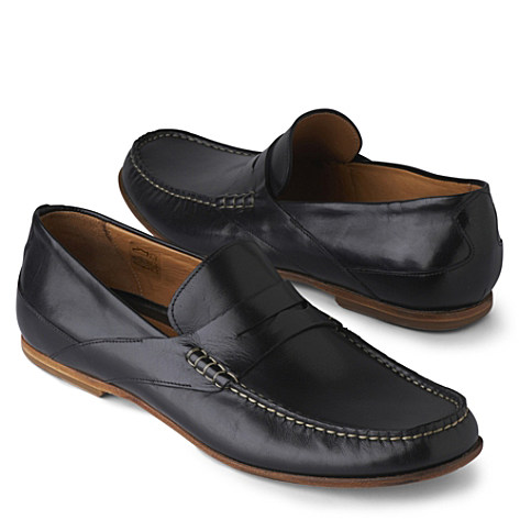 PATRICK COX Figure penny loafers black