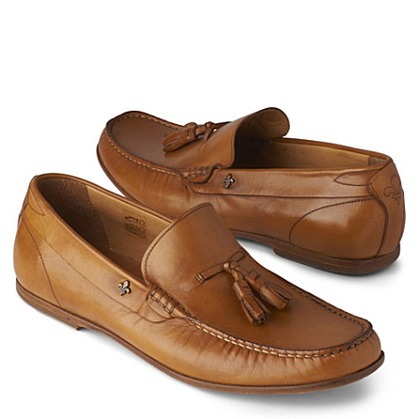 KURT GEIGER Made it loafers tan