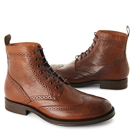 KURT GEIGER Jackal boots tan