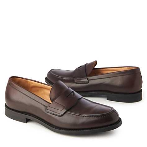 CHURCH Elevdon Penny slip-on shoes brown