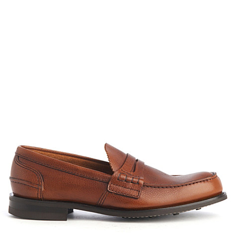 CHURCH Pembrey grained loafers tan