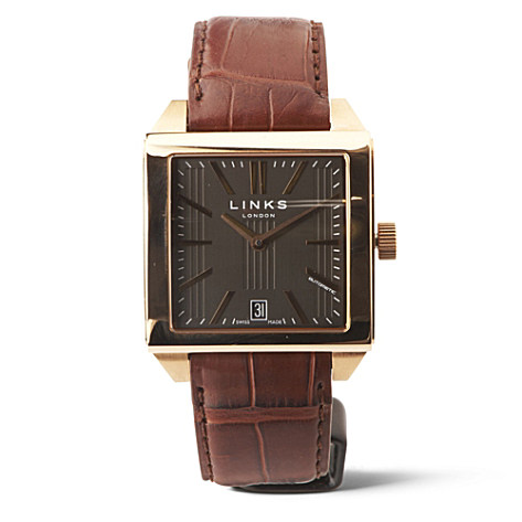 LINKS OF LONDON Sidescape rose gold watch