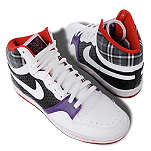 NIKE Court force retro hi–top trainers