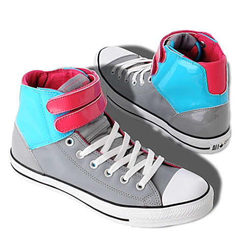 All Star double–strap hi–top trainers