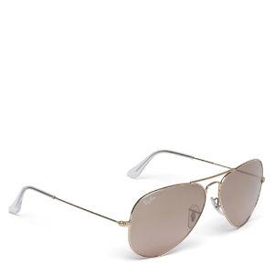 RAYBAN Aviator metal frame sunglasses