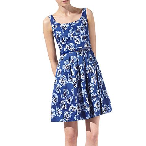 ea2fbe2f2 Oasis China blue print dress - Oasis - Telegraph