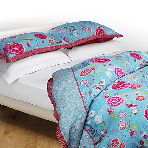 PIP STUDIO Birds of Paradise bedlinen green