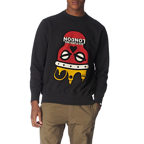 DISTURBING LONDON Disturbing London X MHI Inverted sweatshirt      £80.00